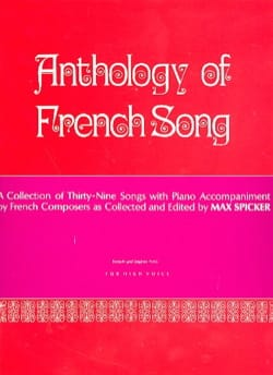 Anthology of French Song. Voix haute Partition laflutedepan