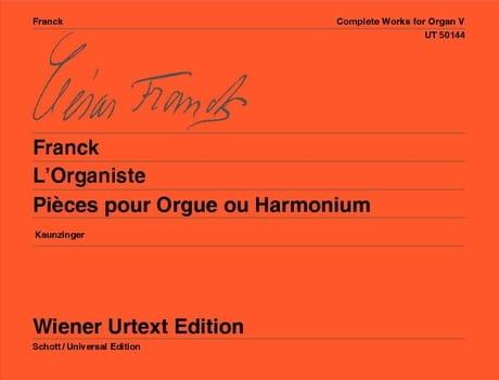 L'Organiste - FRANCK - Partition - Orgue - laflutedepan.com