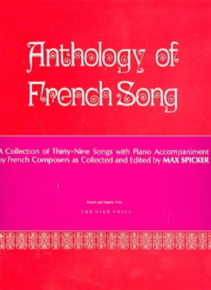 Anthology of French Song. Voix haute - laflutedepan.com