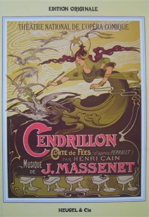 Cendrillon MASSENET Partition Opéras - laflutedepan