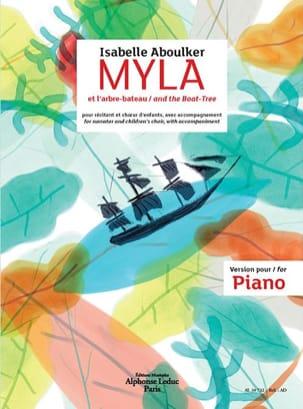 Myla et l'arbre-bateau Isabelle Aboulker Partition laflutedepan