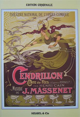 Cendrillon - MASSENET - Partition - Opéras - laflutedepan.com