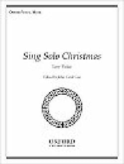 Sing Solo Christmas. Voix Grave Partition Mélodies - laflutedepan