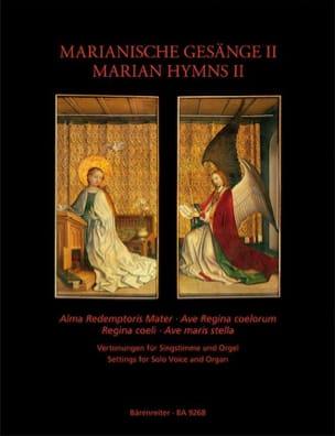 Hymnes Marials volume 2 Partition Mélodies - laflutedepan