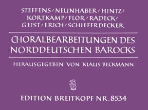 Chorals Baroques de L'Allemagne Du Nord Partition laflutedepan