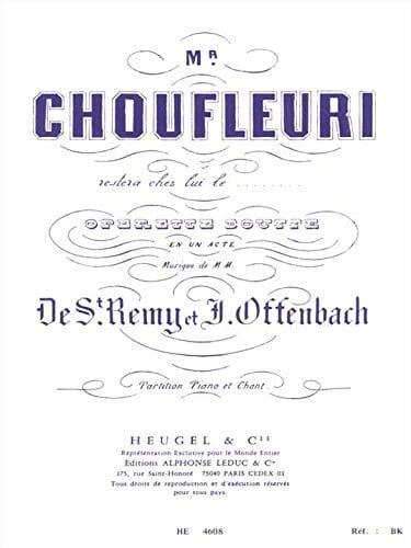 Monsieur Choufleuri Restera Chez Lui le ... - laflutedepan.com