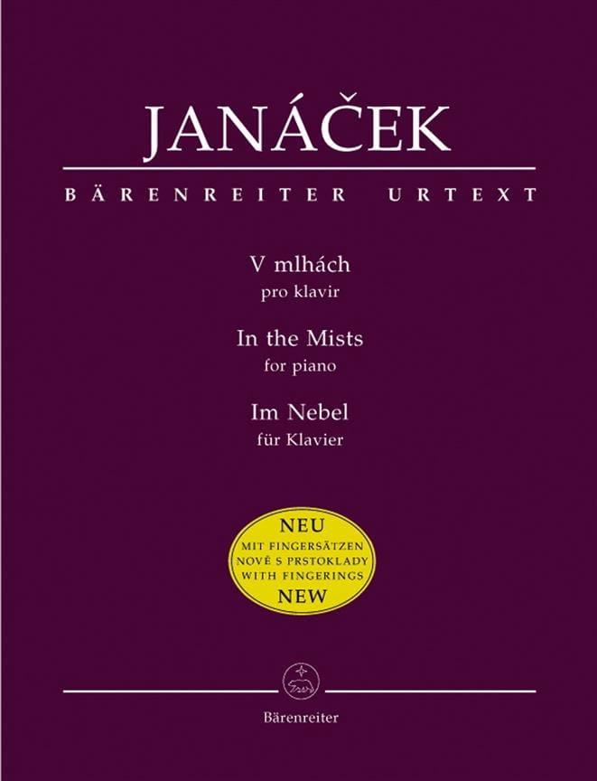 Dans les brumes (V Mlhach) - JANACEK - Partition - laflutedepan.com