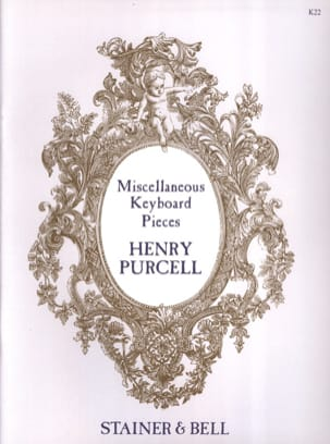 Miscellaneous Keyboard Pieces PURCELL Partition laflutedepan