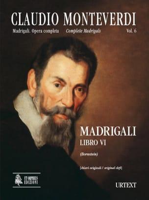 Madrigali Libro 6 - MONTEVERDI - Partition - Chœur - laflutedepan.com