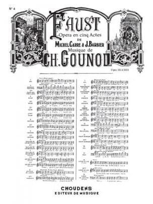 Ballade et Air des Bijoux. Faust - GOUNOD - laflutedepan.com