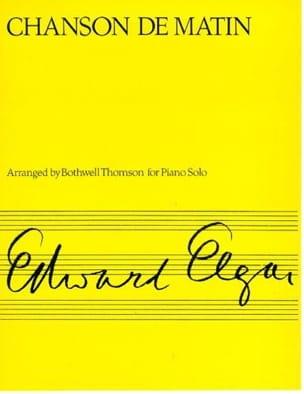 Chanson de Matin Op. 15-2 ELGAR Partition Piano - laflutedepan