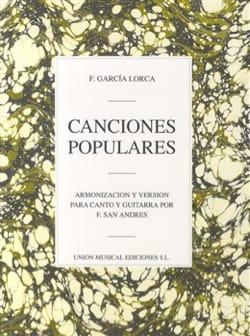 9 Canciones Populares Lorca Federico Garcia Partition laflutedepan