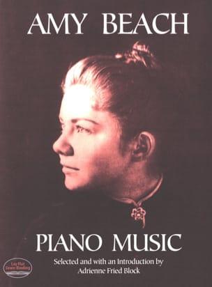 Piano Music Amy Beach Partition Piano - laflutedepan