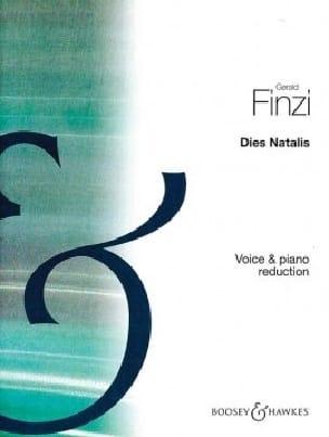 Dies Natalis - Gerald Finzi - Partition - Mélodies - laflutedepan.com