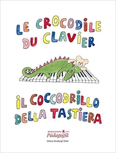Le Crocodile du Clavier - Partition - Piano - laflutedepan.be