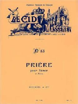 O Souverain. Le Cid MASSENET Partition Opéras - laflutedepan