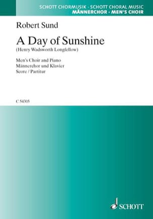 A Day Of Sunshine Robert Sund Partition Chœur - laflutedepan