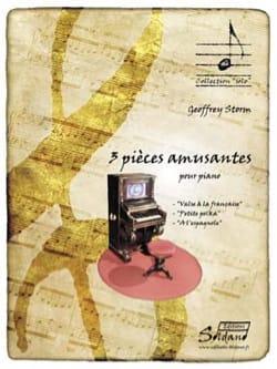 3 pièces amusantes Geoffrey STORM Partition Piano - laflutedepan