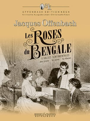 Les Roses de Bengale OFFENBACH Partition Piano - laflutedepan
