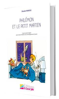 Philémon et le petit martien - Nicole Berne - laflutedepan.com