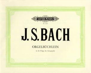 Orgelbüchlein BWV 599-644 BACH Partition Orgue - laflutedepan
