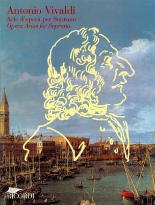 VIVALDI - Arie D'opera Per Soprano - Partition - di-arezzo.com