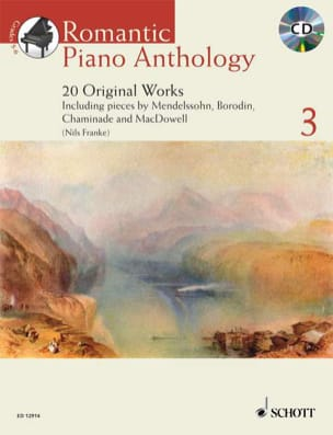 Romantic Piano Anthology Volume 3 Partition Piano - laflutedepan