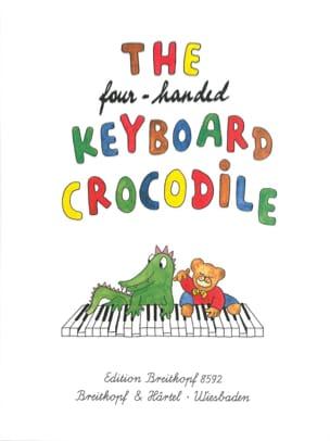 4 Handed Keyboard Crocodile. 4 Mains Partition Piano - laflutedepan