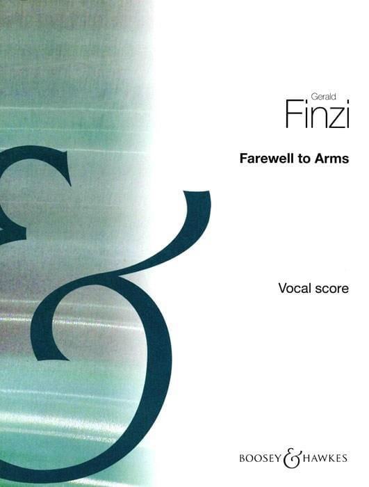 Farewell To Arms - Gerald Finzi - Partition - laflutedepan.com