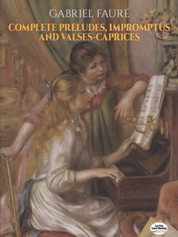 Complete Prelude, Impromptus And Valses-Caprices - laflutedepan.com