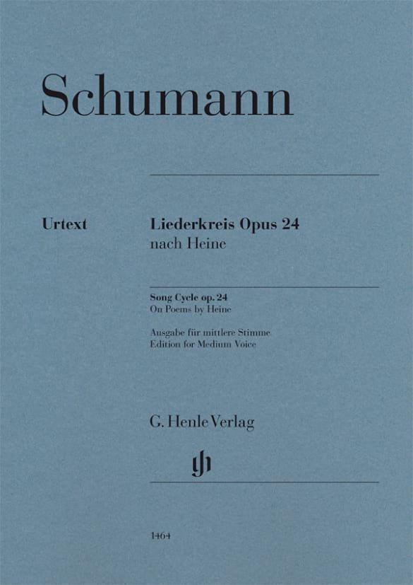 Liederkreis Opus 24 - Voix Moyenne - SCHUMANN - laflutedepan.com