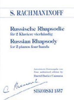 RACHMANINOV - Russische Rhapsodie. 2 pianos - Partition - di-arezzo.es