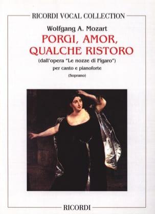 Porgi Amor. Nozze Di Figaro MOZART Partition Opéras - laflutedepan