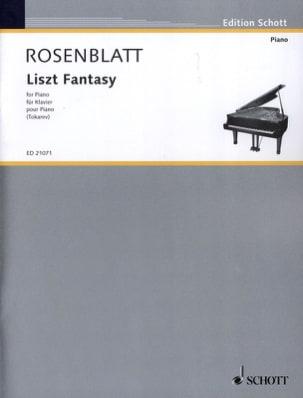 Liszt Fantasy Alexander Rosenblatt Partition Piano - laflutedepan