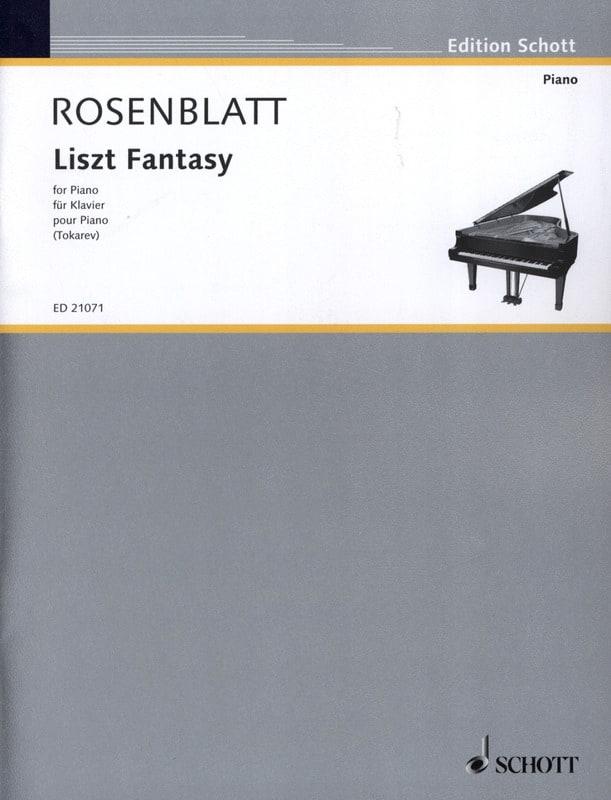 Liszt Fantasy - Alexander Rosenblatt - Partition - laflutedepan.com