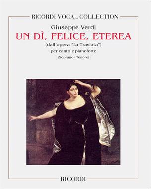 Un Di, Felice, Eterea. Traviata - VERDI - Partition - laflutedepan.com
