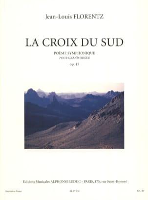 La Croix du Sud Opus 15 Jean-Louis Florentz Partition laflutedepan