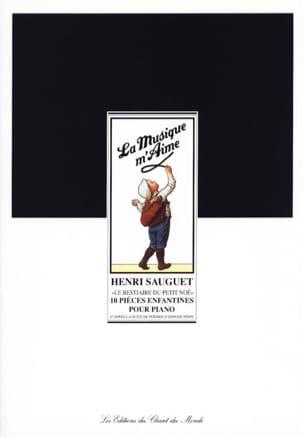 Le Bestiaire Du Petit Noé Henri Sauguet Partition Piano - laflutedepan