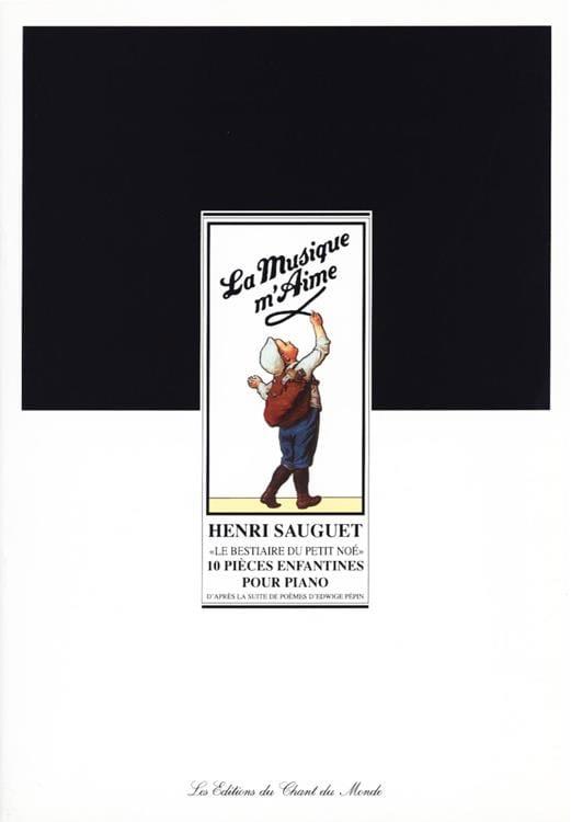 Le Bestiaire Du Petit Noé - Henri Sauguet - laflutedepan.com