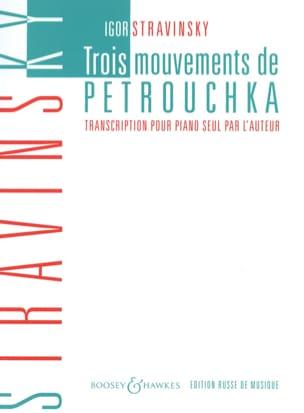 3 Mouvements De Petrouchka STRAVINSKY Partition Piano - laflutedepan