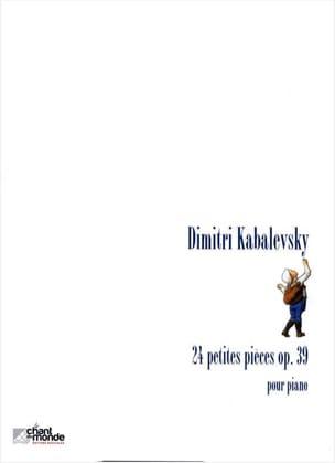 24 Petites Pièces Opus 39 KABALEVSKY Partition Piano - laflutedepan