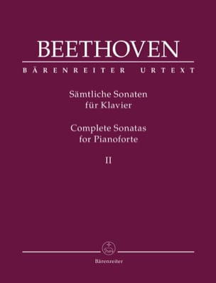 Sonates pour Piano - Volume 2 BEETHOVEN Partition Piano - laflutedepan