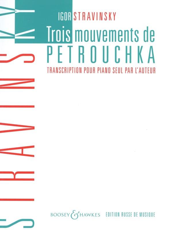 3 Mouvements De Petrouchka - STRAVINSKY - Partition - laflutedepan.com
