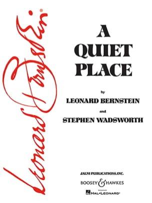 A Quiet Place BERNSTEIN Partition Opéras - laflutedepan