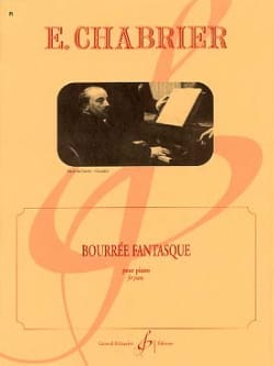Bourrée Fantasque CHABRIER Partition Piano - laflutedepan