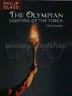 The Olympian - Lighting of the torch GLASS Partition laflutedepan