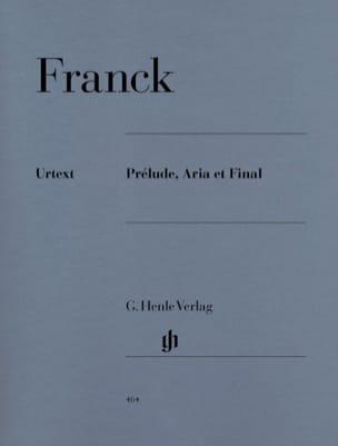 Prélude, Aria et Final FRANCK Partition Piano - laflutedepan