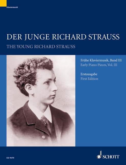 Frühe Klaviermusik Vol 3 - Richard Strauss - laflutedepan.com