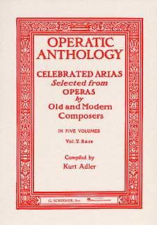 Operatic Anthology Volume 5 Basse - Partition - laflutedepan.com