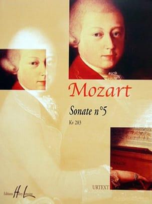 Sonate n° 5 KV 283. MOZART Partition Piano - laflutedepan